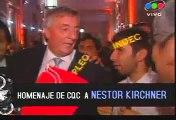 Homenaje de CQC a Nestor Kirchner 4/5  / CQC Tribute to Nestor Kirchner 4/5