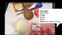 How to Make Basic Curry Rice (Vermont Curry) カレーライスの作り方 - OCHIKERON -