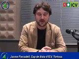 Eleccions Municipals a Tortosa, ICV, Jaume Forcadell.