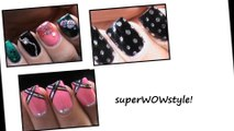 3 Nail Designs Tutorials - Party Nails by superwowstyle