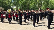 Trooping the Colour Rehearsal 2015