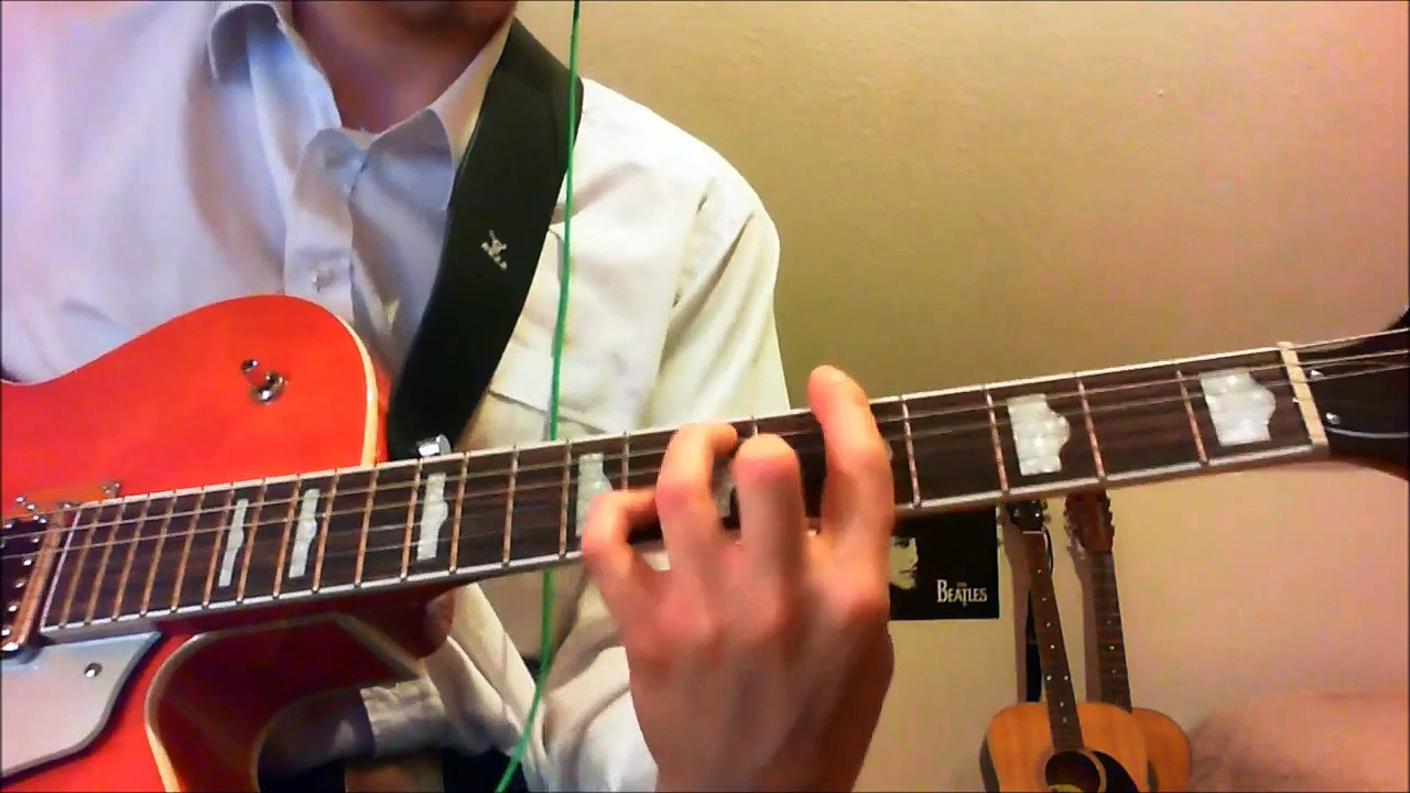 The Beatles – Twist And Shout Rhythm Guitar Tutorial and Cover with Tabs