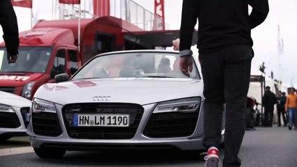 24.06.2015 Audi R8 trip with Philipp Buhl