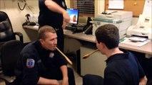 Firefighter Wooden Spoon Prank