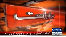 Shahid Hayat Press Conference After Arresting 9 KMC employees - 27th June 2015
