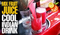 Mixed Fruit Juice | Orange,Pineapple,Pomegranate | Popular Indian Street Foods & Drinks