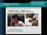 What is linguistics? How do linguists study language? -- Linguistics 101