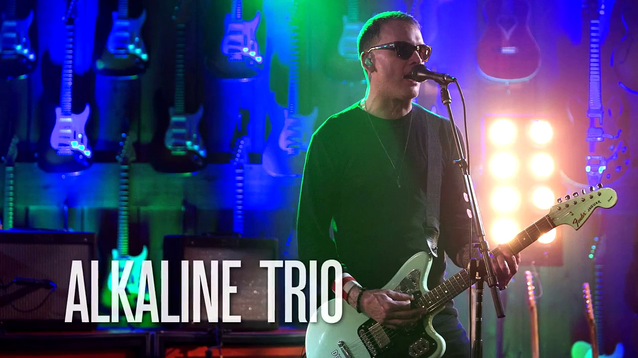 """Alkaline Trio """"She Lied to the FBI"""" Guitar Center Sessions on DIRECTV"""