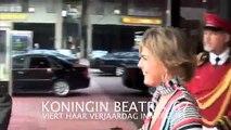 KONINGIN BEATRIX VIERT HAAR VERJAARDAG (75) OOK IN HET BEATRIX THEATER