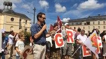 Rassemblement en soutien au peuple grec