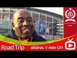 Arsenal V  Man City At The Eithad Stadium - ArsenalFanTV.com