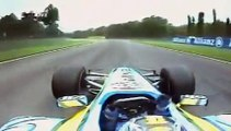 Formula 1 Fernando Alonso VS Michael Schumacher Onboard Imola 2005