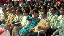 Speeches of Aung San Suu Kyi and Aung Min at NLD Education Fundraising