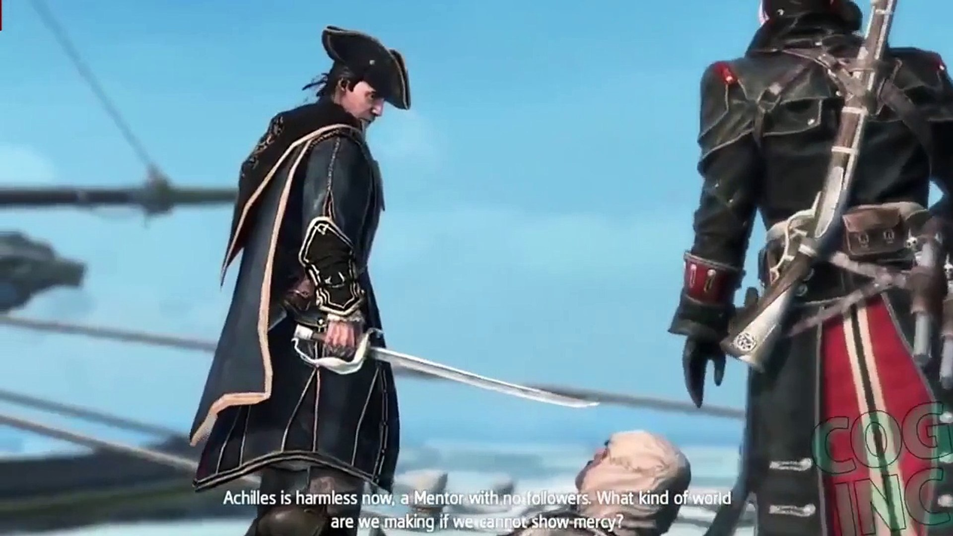 Assassin's Creed Rogue: Final - Boss - Fight - Ending (AC Rogue Ending) [1080p]