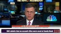 NBC Admits No Assault Rifle Used At Sandy Hook