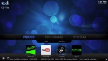 How to install AAA Live TV-Best KODI (XBMC) Addon-AAA Stream Live TV
