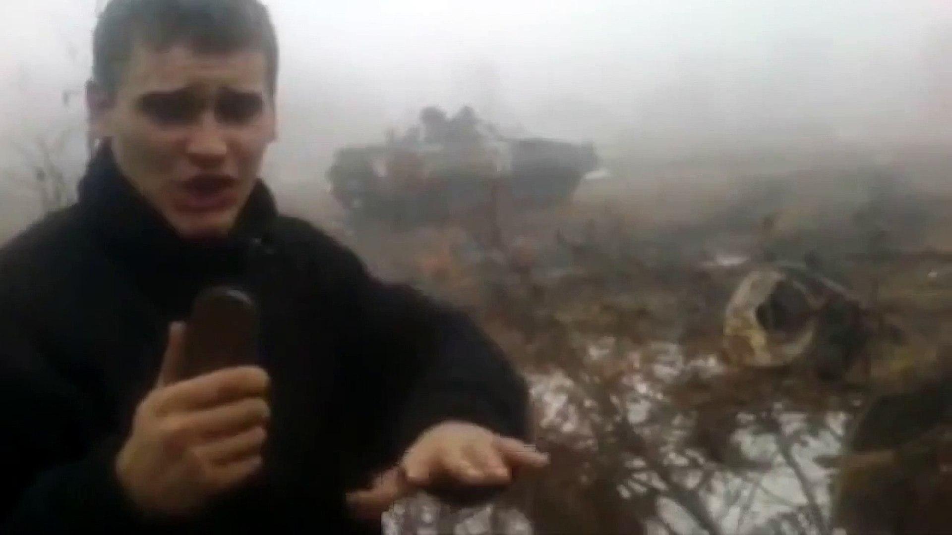Пьяные солдаты ВСУ учатся водить БМП-2. Новороссия новости.