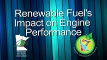 Biofuels as Renewable Energy: Renewable Fuel Impact on Engines