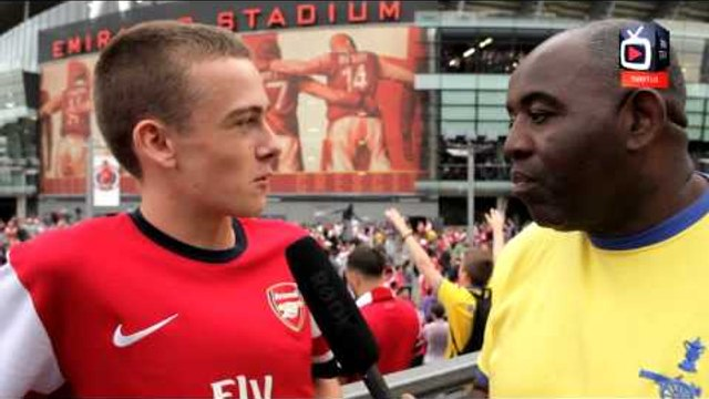 Arsenal FC 1 Spurs 0 - FanTalk - The Atmosphere Was Amazing Arsenal Of Old - ArsenalFanTV.com