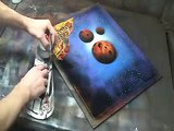 Spray Paint Art Step By Step DVD Sample clip #1 of 4