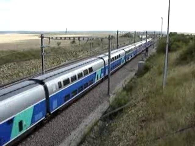 TGV duplex bifur Pasilly Cote D'or