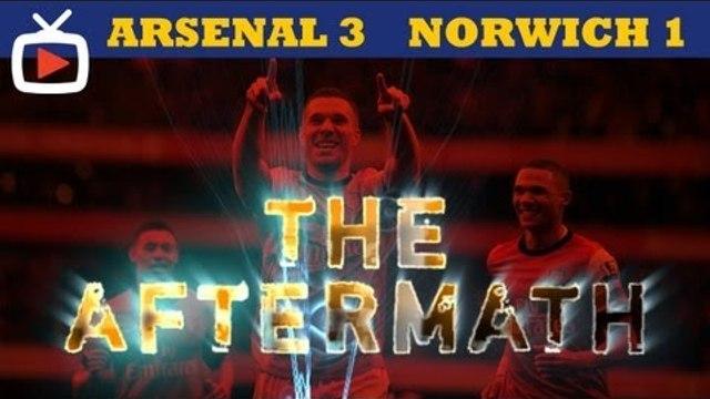 Arsenal 3 v Norwich 1 - Aftermath Show - ArsenalFanTV.com