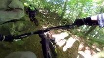 MTB Tour Luxembourg Müllerthal GoPro 3 VTT