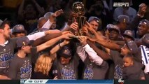 Championship Trophy Presentation Ceremony | Warriors vs Cavaliers | Game 6 | 2015 NBA Finals