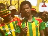 Ethiopia - Passionate Team Ethiopia Supporters in Addis Ababa before South Africa game