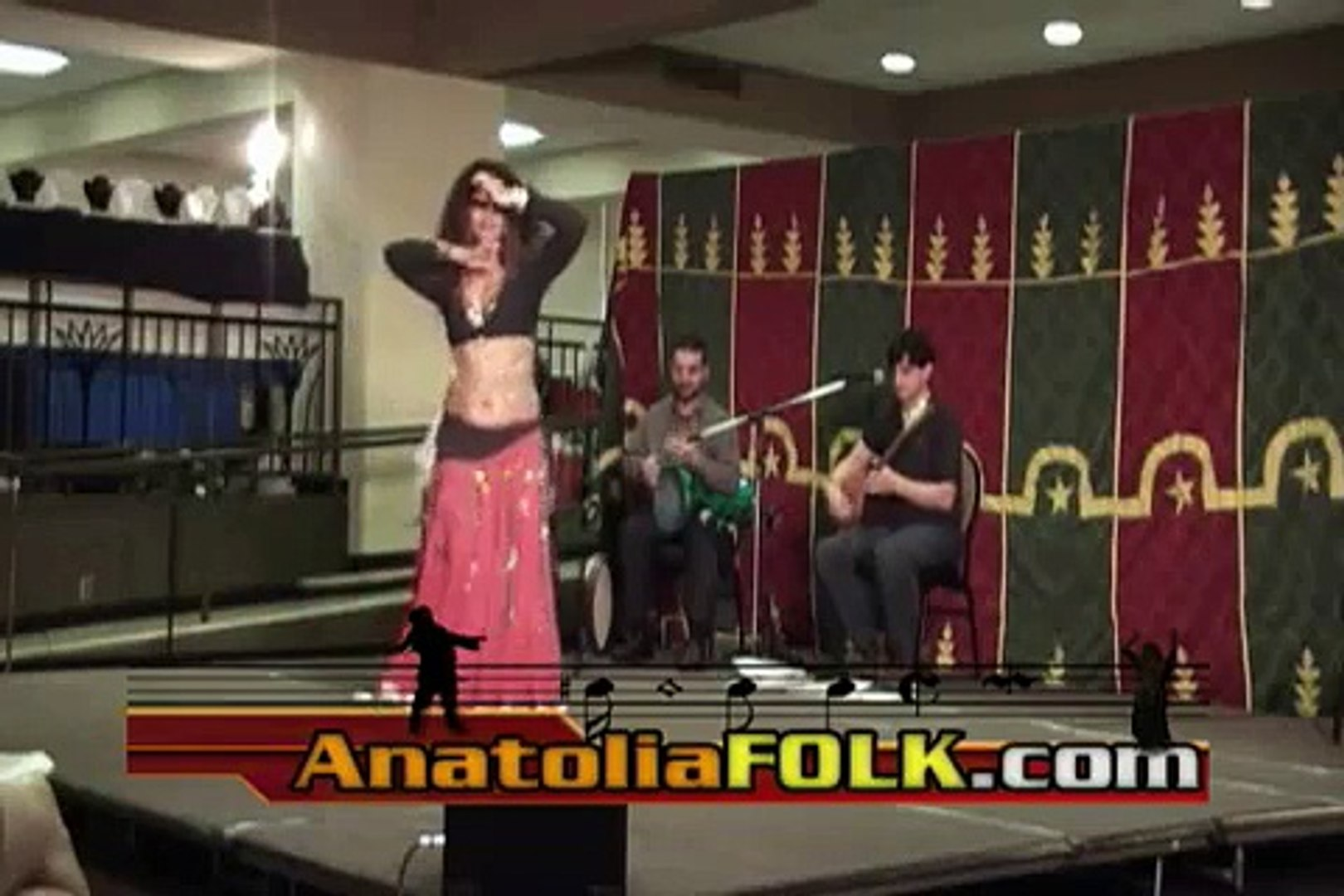 Persian Belly Dance with Live Anatoliafolk.com musicians  LA