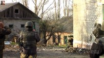 Ukraine War 2015. Chechens and UA Forces in Heavy Fighting During Clashes in Pesky and Shyrokyne