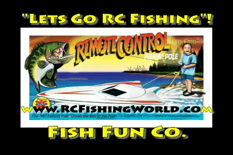 Remote Control Fishing Boats