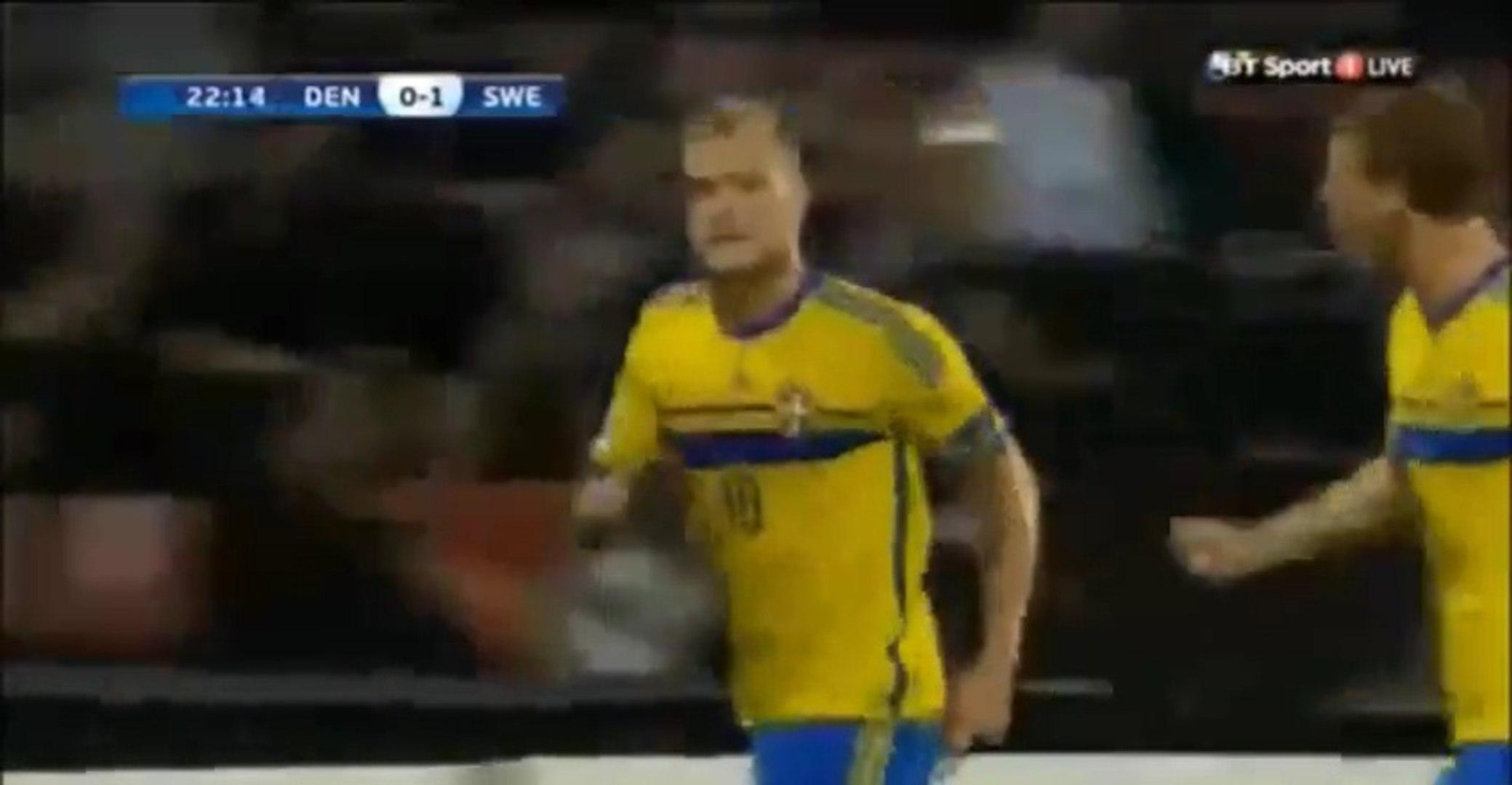 Denmark 1 - 4 Sweden All Goals Highlights 27.06.2015 (Euro U-21 Championship)