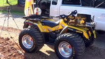 Can Am Outlander Pulling ATV at the Tennessee Valley Fair 2012