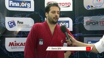 FINA Men's Water Polo World League 2015 - round 6 - TUR vs CRO - INTERVIEWS