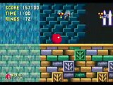 Sonic The Hedgehog 3 & Knuckles (Sega MD / Sega Genesis) - (Knuckles | Hydrocity Zone - Act 1)