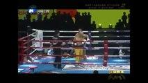 มวยไทย สุดสาคร vs เส้าหลิน โหด :  Yi Long vs Sudsakorn ( Muay Thai Boxing )