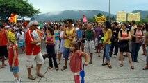 Manifestação Contra a Construção de Prédios Altos na Lagoa da Conceição