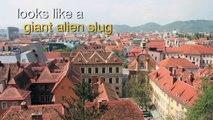 Travel Austria - Visiting the UFO Shaped Graz Art Museum