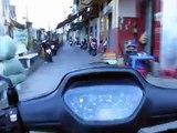 Driving around - Honda Wave Alpha (2004 model) - Saigon, Vietnam