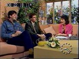 Stephen Fry and Hugh Laurie on TV-am in 1990