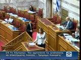 Ομιλία στη Βουλή για Καλλικράτη