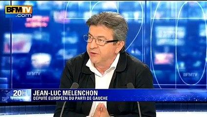 """Mélenchon à Hollande sur la Grèce: """"Tu ne peux pas laisser faire ça"""""""