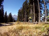 Downhill and freeride, singletrack mountain biking Alps  - VTT Bike Park Samoens