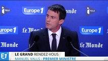 """Manuel Valls :  """"Nous vivons sous une menace terroriste majeure"""""""