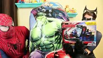 Huge Marvel Toy Surprise Heroics IRON MAN, Captain America, HULK, THOR by Disney DC Toys Collector