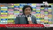Shahid Afridi Funny Punjabi Dubbing Interview After Winning Against India - Tezabi Totay