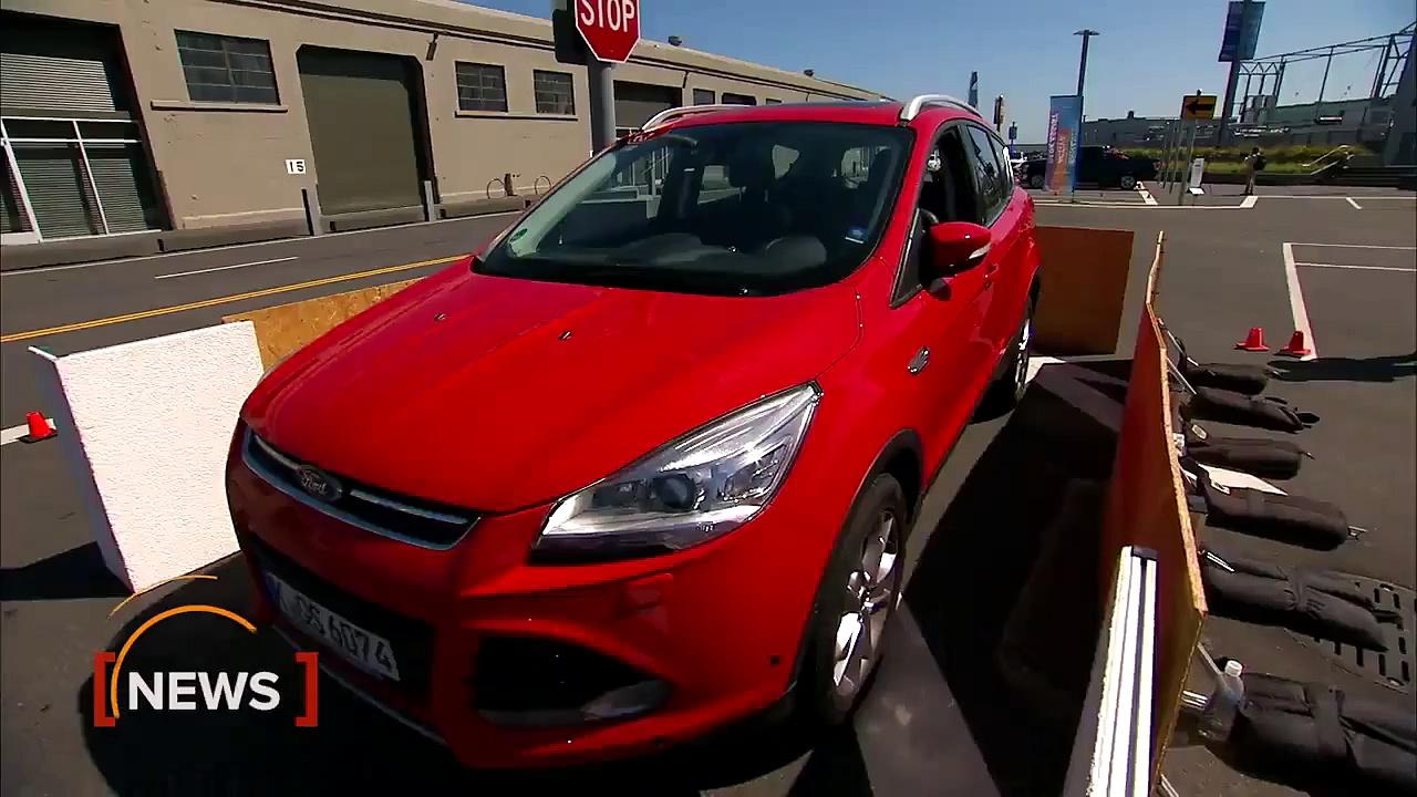 Car Tech – Ford demos driverless parking tech