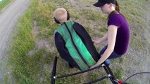 Paramotor World's First!!! Powered Paragliding Tandem Father Son Fly Camping Expedition Fun!!!