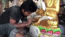 Myanmar 2012 - Buddha sculpture production (3240)